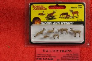 1884 Woodland Scenics HO scale Deer figures