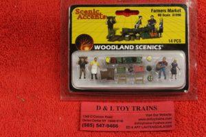 1896 Woodland Scenics HO scale Farmers market figures