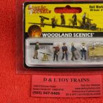 1898 Woodland Scenics HO scale Rail workers figures