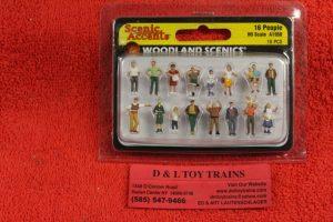 1958 Woodland Scenics HO scale People figures