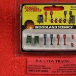 1960 Woodland Scenics HO scale Street items
