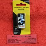 21662 K-Line by Lionel O scale Moo town creamery vending machine