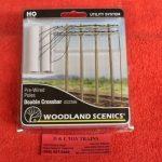 2266 Woodland Scenics double crossbar telephone poles