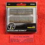 2985 Woodland Scenics HO scale Privacy fence