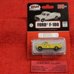 30000129 Atlas HO scale Boston & Maine 1973 Ford F-100 pickup truck