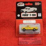 30000130 Atlas HO scale Erie Lackawanna 1973 Ford F-100 pickup truck