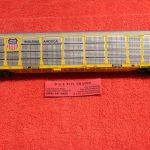 452109 Intermountain HO scale Union Pacific bi level auto rack car