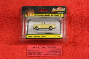 5527 Woodland Scenics 1:87th scale Rodger's rag top