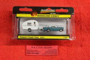 5532 Woodland Scenics 1:87th scale Thompson's travelin trailer