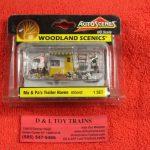 5542 Woodland Scenics 1:87th scale Ma & Pa's trailer haven