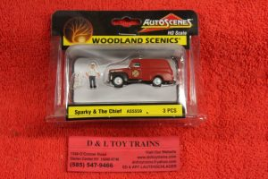 5559 Woodland Scenics HO scale Sparky & the cheif