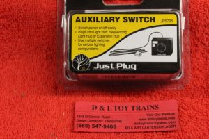 5725 Woodland Scenics all scales Auxiliary switch