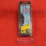 5951 Woodland Scenics all scales medium US flag pole with spotlights ll