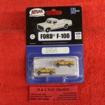 60000126 Atlas N scale Canadian Pacific 1973 Ford F-100 pickup trucks