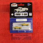 60000129 Atlas N scale Erie Lackawanna 1973 Ford F-100 pickup trucks