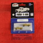 60000130 Atlas N scale Union Pacific 1973 Ford F-100 pickup trucks