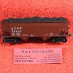 7524 Kadee HO scale ATSF AAR standard 2 bay hopper car