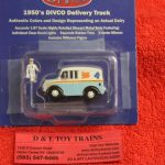 87-011 American Heritage 1:87th scale Rutter Worth Dairy delivery truck