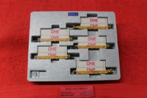 106-6197 Kado N scale TTX gunderson Maxi I double stack car