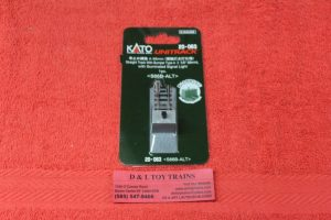 """20-063 Kado N scale Unitrack 2 5/8"""" straight track with type A bumper"""