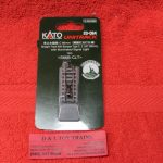 """20-064 Kado N scale Unitrack 2 5/8"""" straight track with type C bumper"""