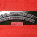 "20-132 Kado N scale Unitrack 13 3/4"" radius 45 degree curve track"