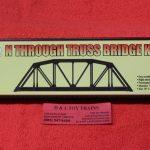 2070 Atlas N scale Code 55 Truss bridge kit