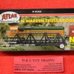 2546 Atlas N scale Warren truss bridge