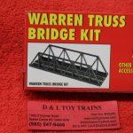 590 Atlas HO scale Code 83 Warren truss bridge kit