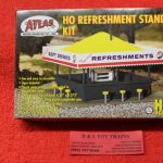 715 Atlas HO scale Refreshment stand kit