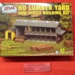 750 Atlas HO scale lumber yard and office kit