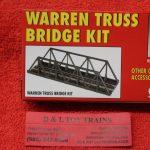 883 Atlas HO scale Code 100 Warren truss bridge kit
