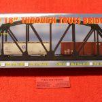 """888 Atlas HO scale Code 100 18"""" Truss bridge kit"""