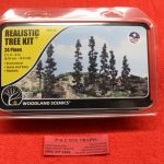 "1113 Woodland Scenics all scales 2 1/2""-6"" pine trees kit"