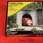 1266 Woodland Scenics O scale Concrete tunnel portal
