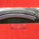 "20-120 Kato N scale Unitrack 12 3/8"" radius 45 degree curve track"