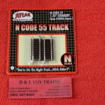"2006 Atlas N scale Code 55 1 1/4"" straight track"
