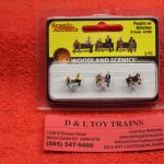 2206 Woodland Scenics N scale People on benches figures