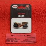 70000101 Atlas HO scale Hooded modern signal heads only