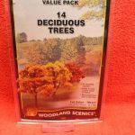 "1577 Woodland Scenics 3""-5"" Fall color trees"