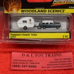 5328 Woodland Scenics 1:160th scale Thompson's traveling trailer