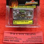 5341 Woodland Scenics 1:160th scale Ma & Pa's trailer haven